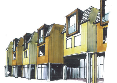 Renovatie Lipperhof Lipperkerkstraat Enschede