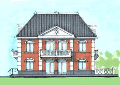 Ontwerp klassieke villa Sprakelweg 't Vaneker
