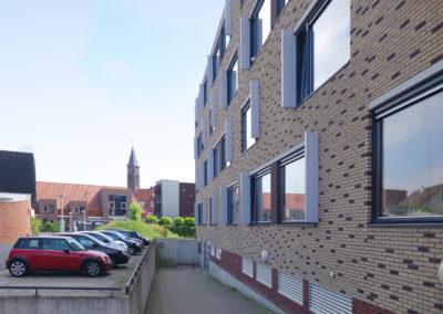 Appartementencomplex in eigentijdse stijl