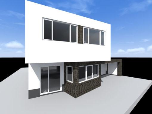 Vrijstaande moderne woning