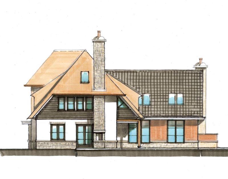 """Rietgedekte """"Cottage-Style"""" villa in Zwaanshoek"""
