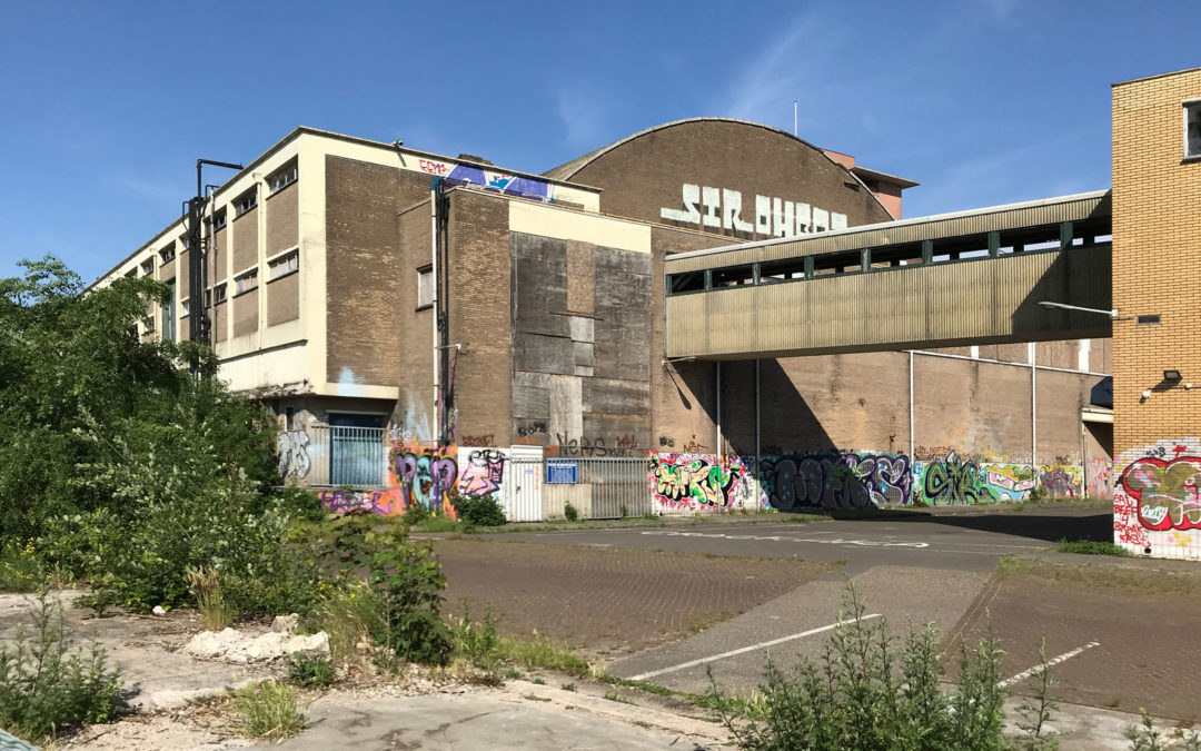 Bouwen bij De Melkhal in Enschede